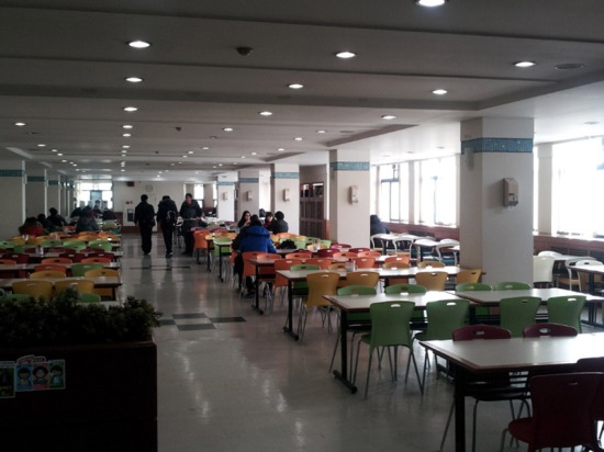 "Packed in peak times: ""Cafeteria for Students"""