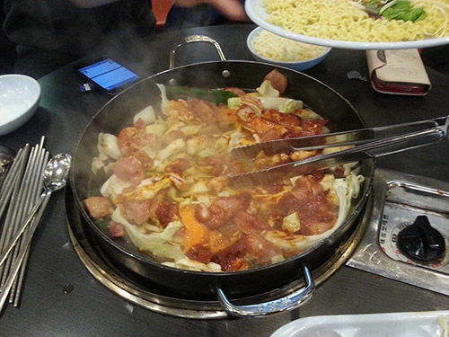 A pan full of Galbi