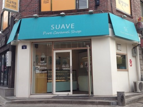 'SUAVE' offers handmade caramels and macaroons