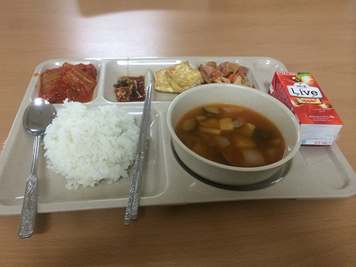 "My ""Korean"" breakfast..."