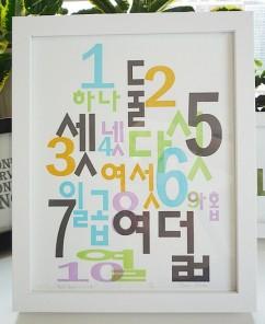 Korean numbers janasim