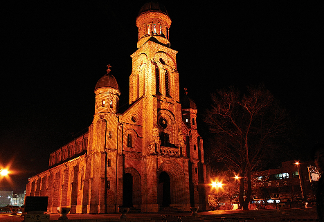 Jeondong Church night