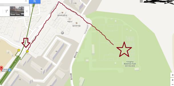 Map yongmasan