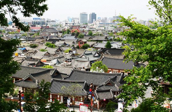 View from Omokdae