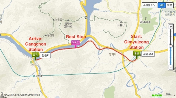 7. gimyujeong trail map