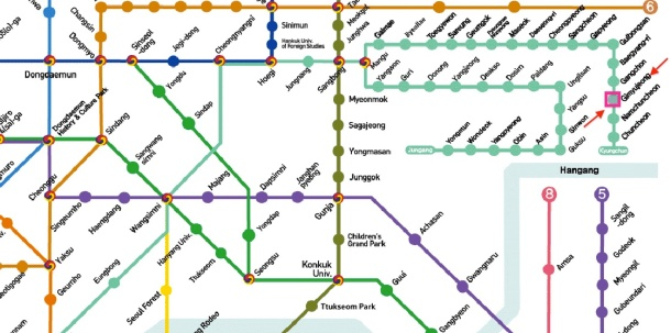 8. Gimyujeong subwayy