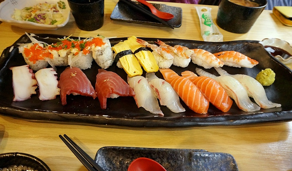 Sushi Places Open Near Me