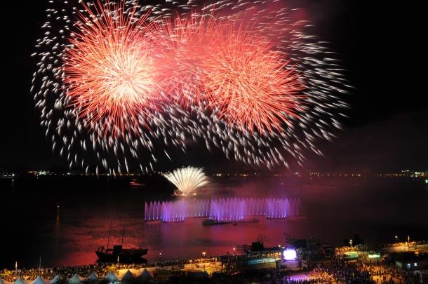 mokpo festival fireworks