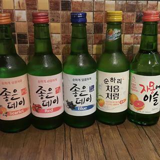 Soju Flavours