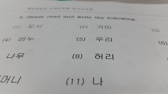Hangul – the Korean Alphabet – myHUBS