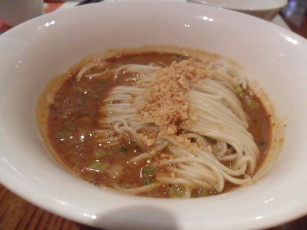 3 Noodle with peanut sauce