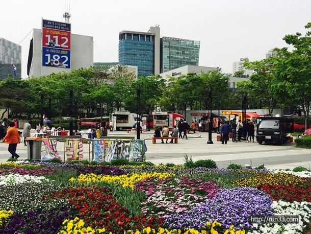 왕십리 광장