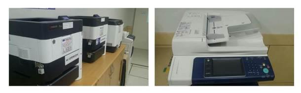 융합교육관 프린터기