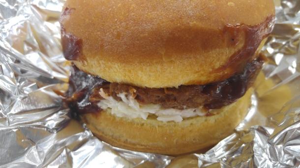 21 beef brisket burger