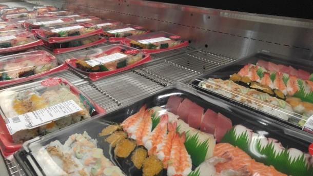 4 sushi roll