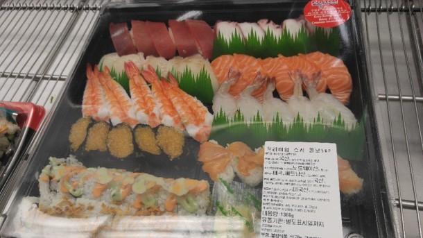 5 sushi roll