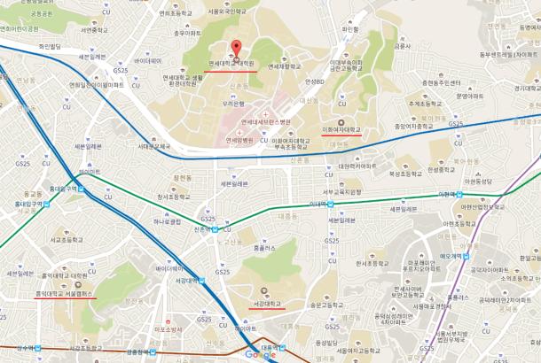 Yonsei Campus Map.Visit Universities In Korea Part 2 Myhubs